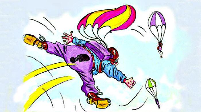 анекдоты про парашютистов