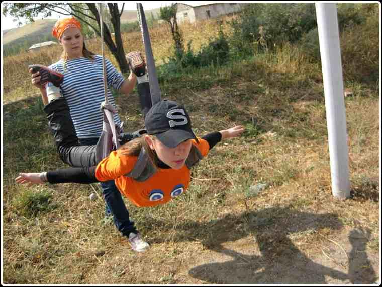 Две Кати в Шымкенте